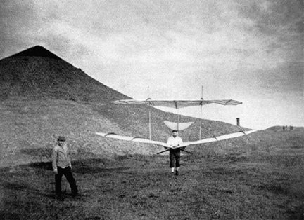 Otto lilienthal first gliders think