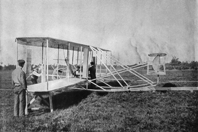 an analysis of the invention of flight by wilbur and orville wright First in flight: the wright brothers of birds in flight although wilbur and orville wright were wilbur wright orville wright inventor~ one who designs or.